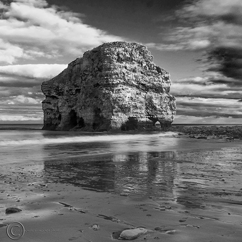 Marsden Rock, South Shields UK