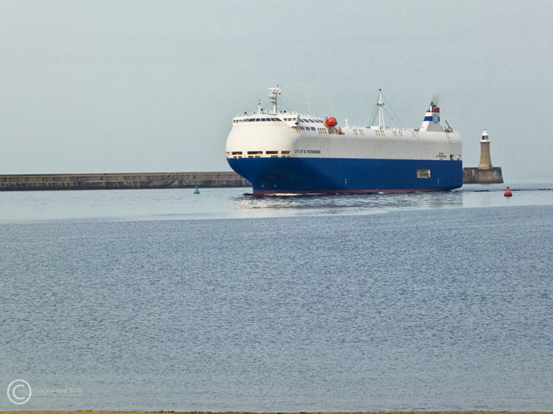 City of St. Petersburg, Nissan ship South Shields