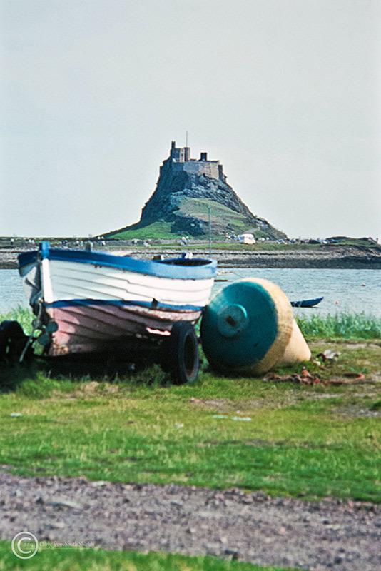 Lindisfarne castle 1990