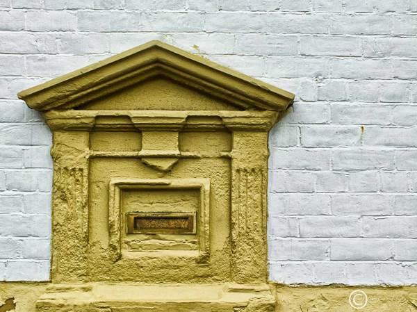 Letterplate in South Shields, UK