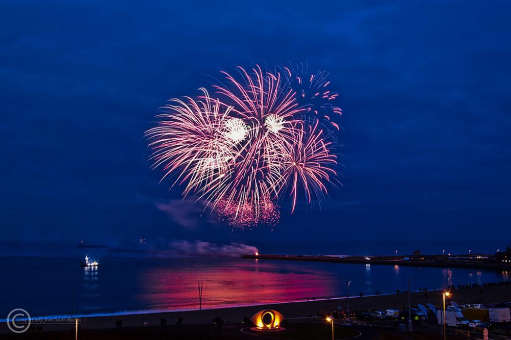 Opening littlehaven Beach promenade, South Shields