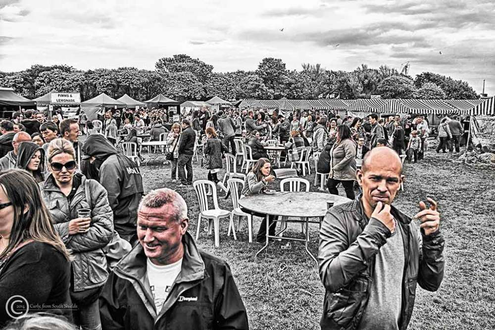 Food festival, South Shields 2014