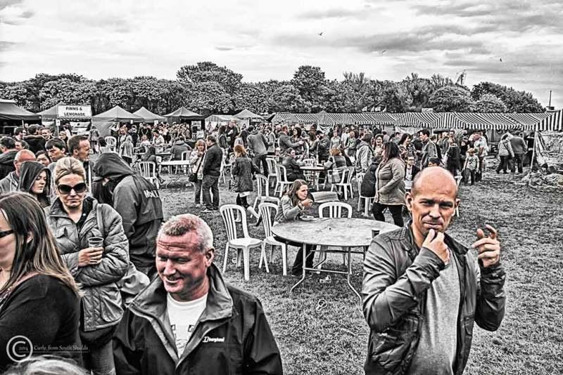 Food festival, South Shields 2014