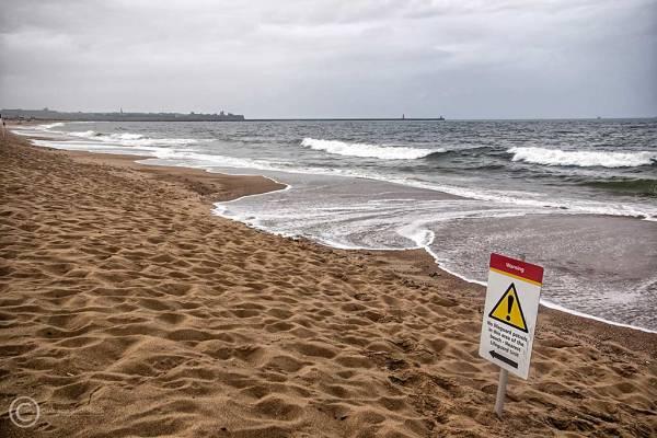 Sandhaven Beach, South Shields.