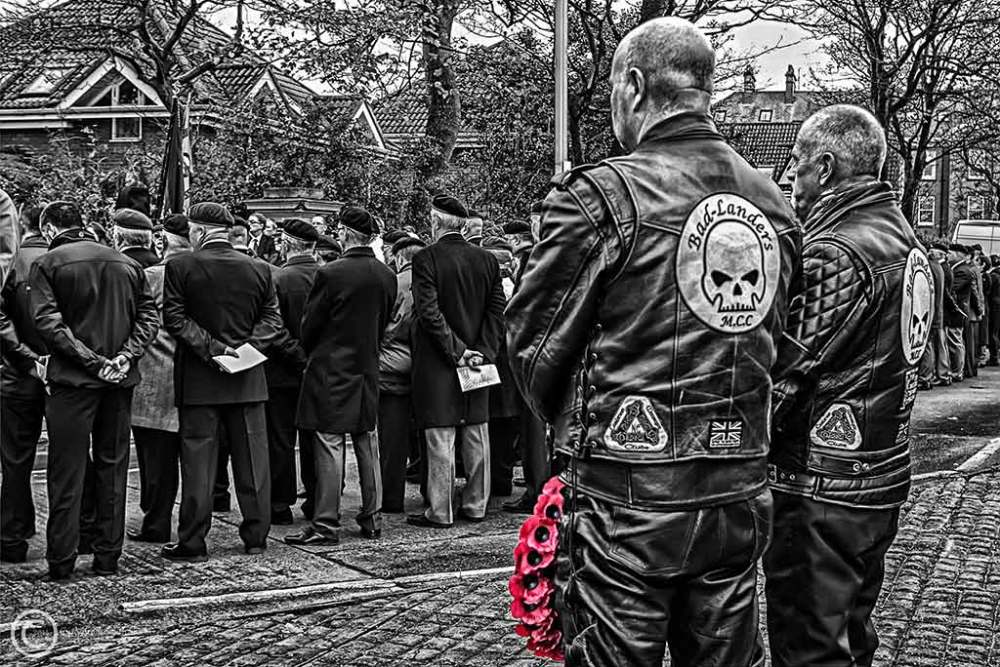 Remembrance Sunday, South Shields 2014