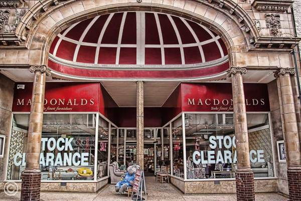Macdonalds furniture shop in York