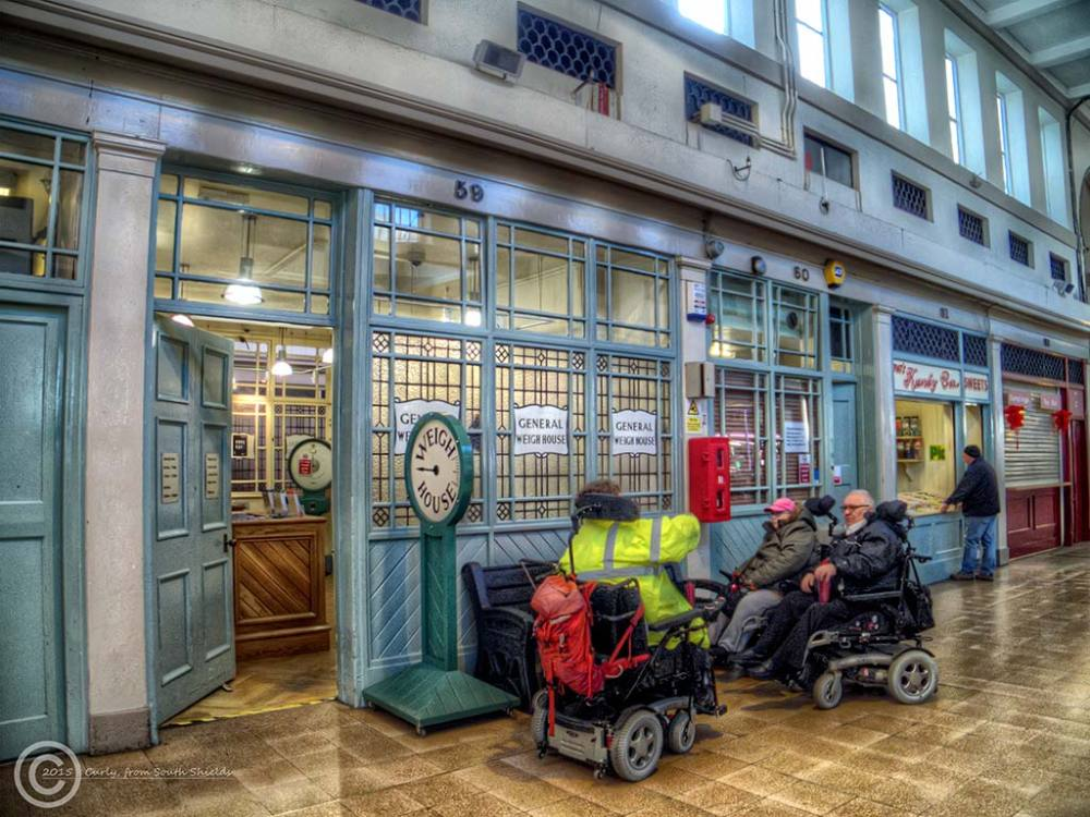 Weigh House, Grainger Market, Newcastle Upon Tyne