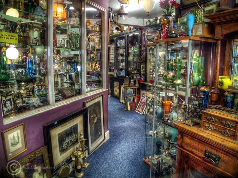 Antique shops, Newcastle Upon Tyne