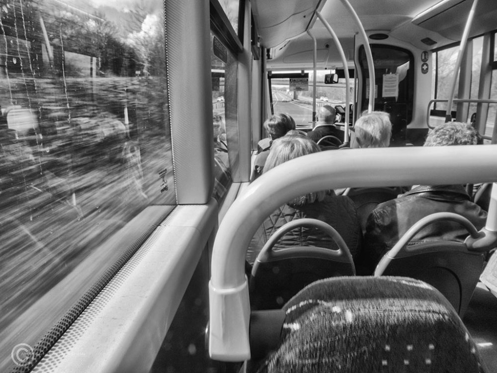 Park and ride bus to Durham, UK