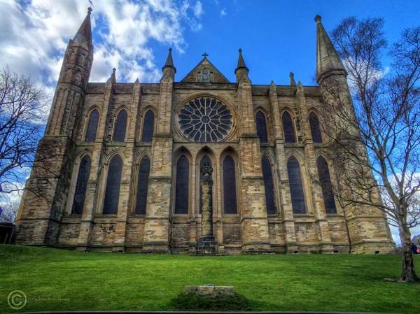 Durham cathedral, east face