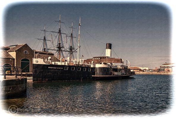 PSS Wingfield Castle, Hartlepool marina