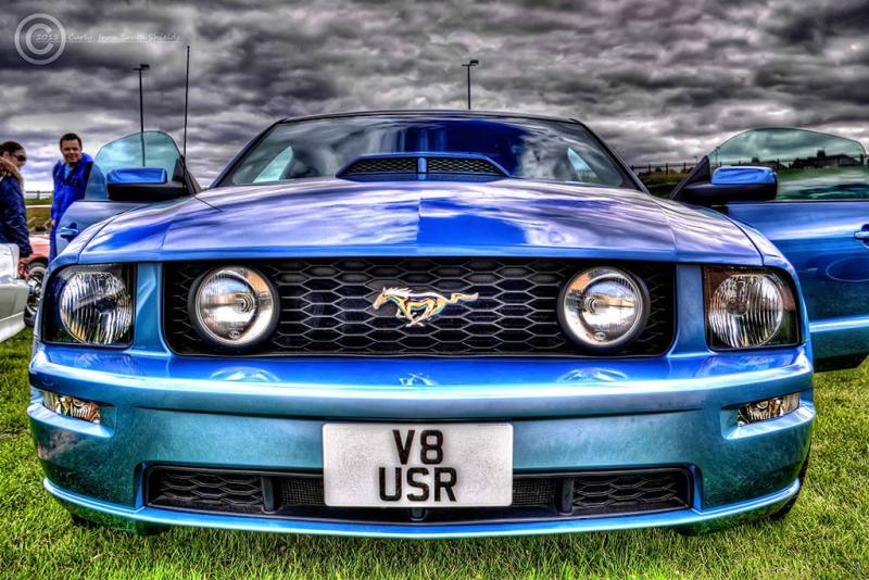 American Car Show in South Shields, Mustang