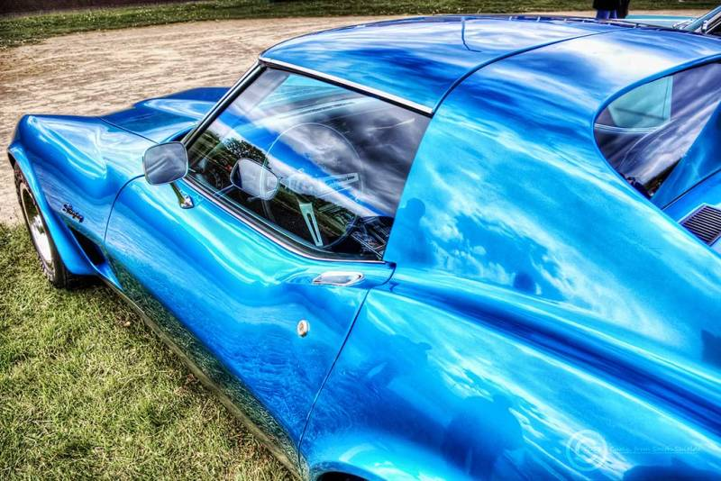 American Car Show in South Shields, Stingray