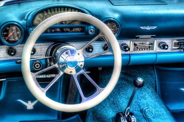American Car Show in South Shields, Thunderbird