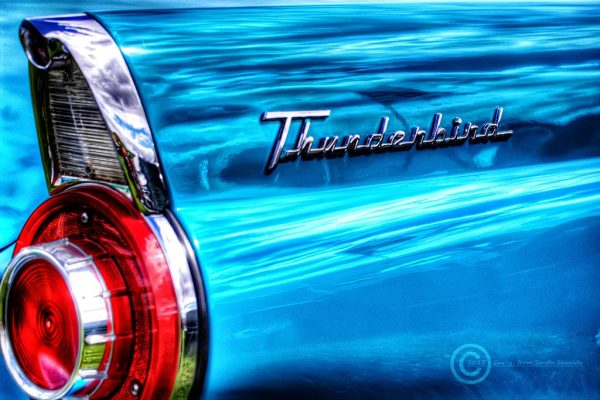 American Car Show in South Shields, Thunderbird