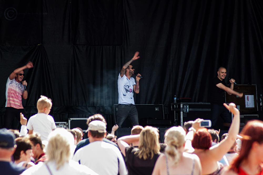 Bents Park, South Shields 11 July 2015