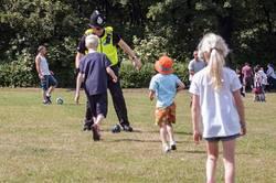 Bents Park, South Shields 11 July 2015 policeman