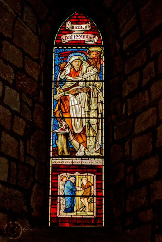 Window in St. Mary Magdalene, Lanercost