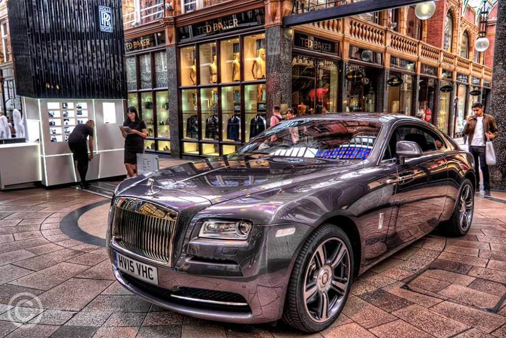 Rolls Royce for sale in Leeds Arcade