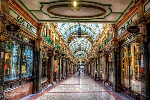 County Arcade, Leeds, West Yorkshire