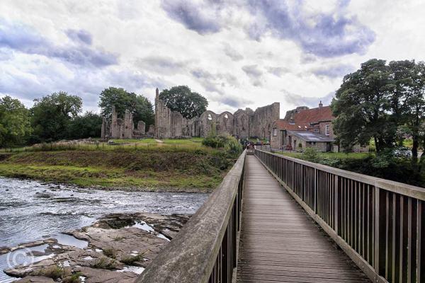 Finchale Priory near Durham, England