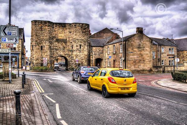 Alnwick, Bondgate Within, Northumberland