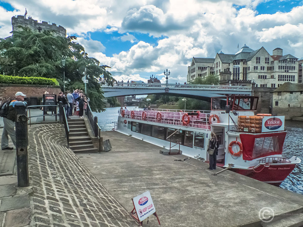 River boat, York, UK
