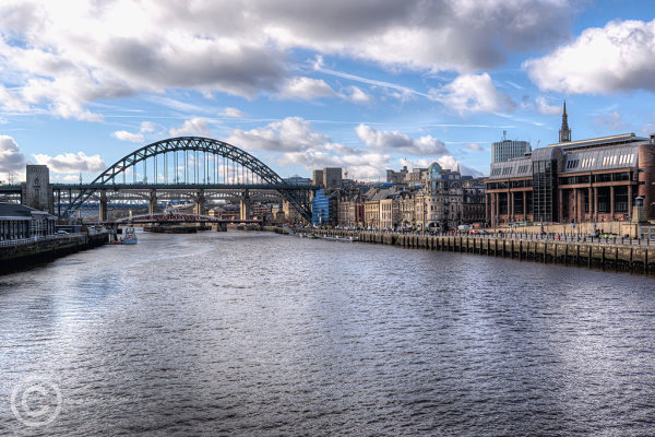 Bridges over the River Tyne at Newcastle