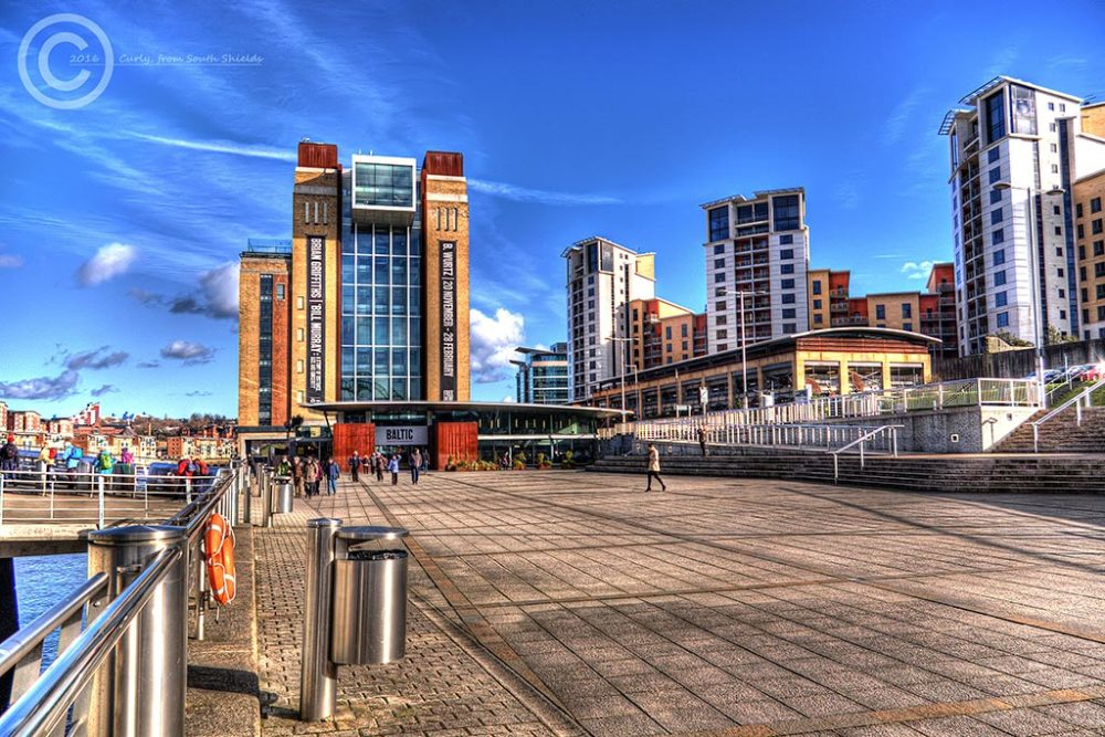 Baltic Square, Gateshead, HDR