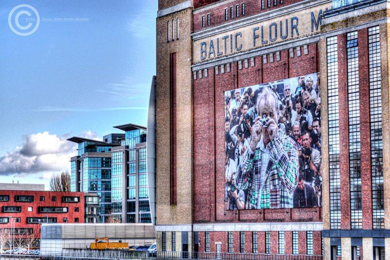 Baltic Mill art gallery Gateshead