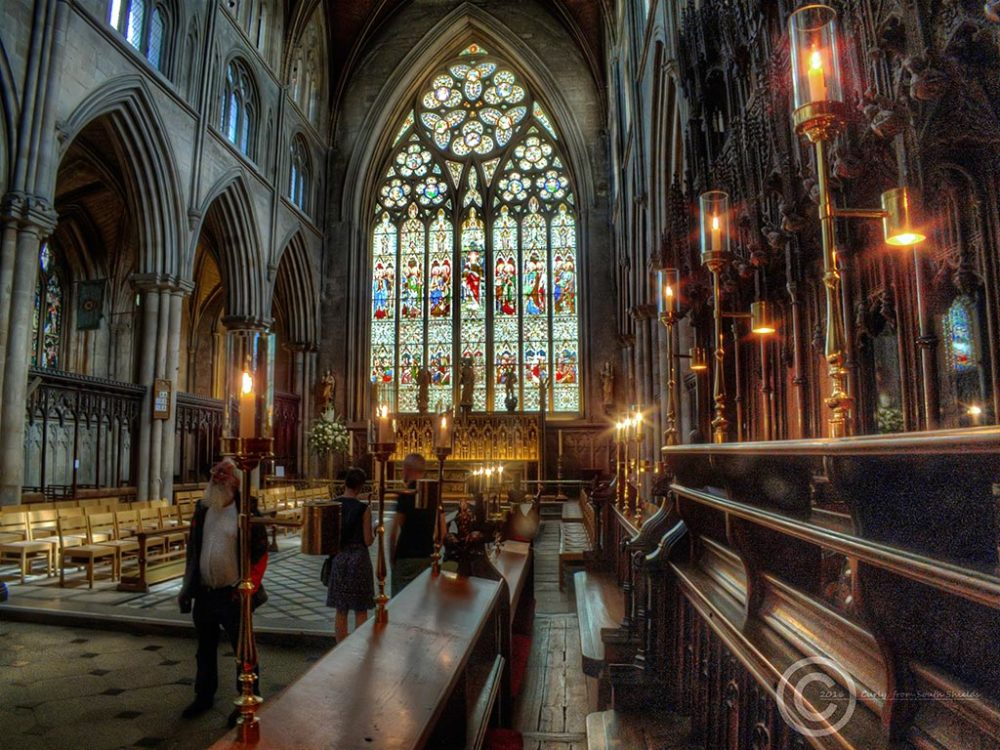 Ripon Cathedral North Yorkshire.