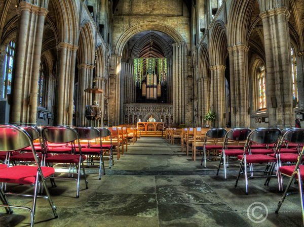 Ripon Cathedral nave, North Yorkshire