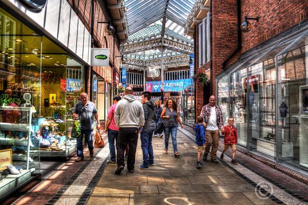 """The Lanes"", Carlisle, Cumbria."