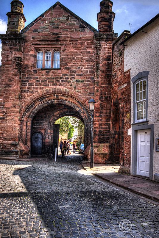 Abbey Street, Carlisle, Cumbria