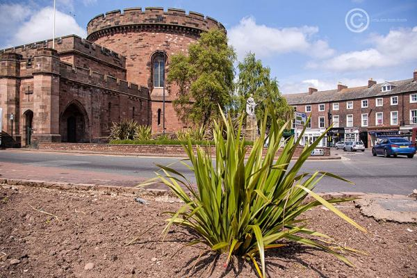 The Crescent and Citadel, Carlisle, Cumbria