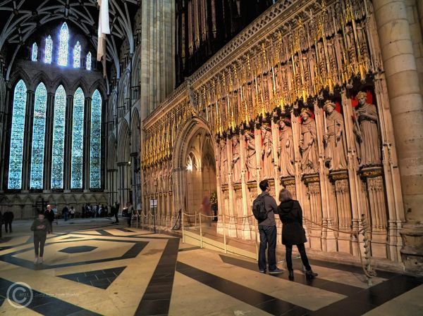 King's screen, York Minster, UK