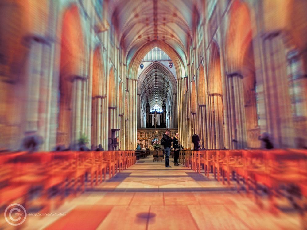 York Minster nave
