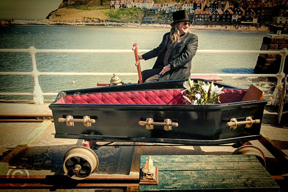Whitby Goth Weekend April 2017 RNLI ride