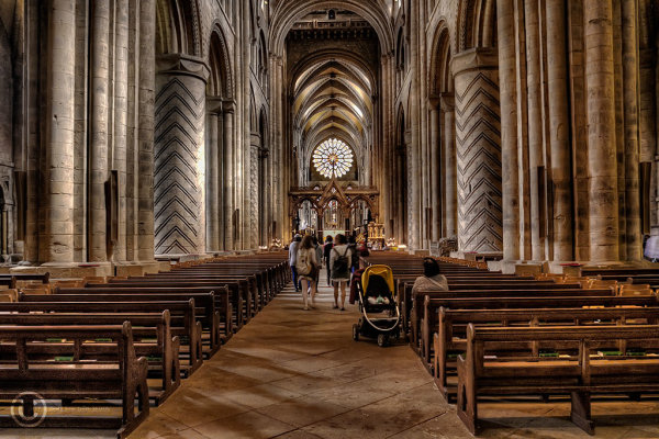 Durham Cathedral, nave.