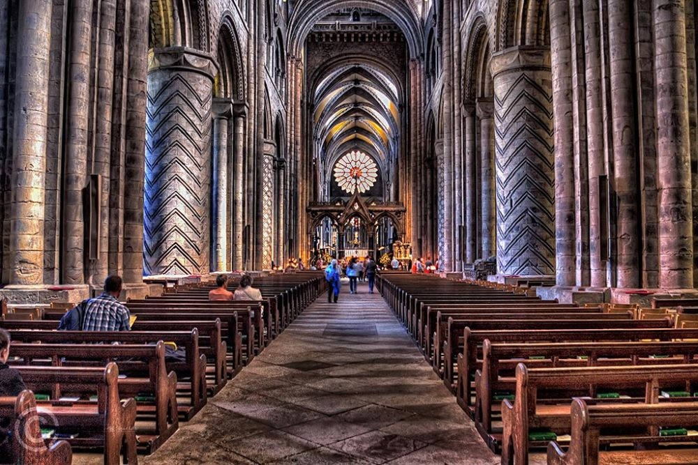 Durham cathedral nave