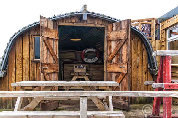 Fish and chip restaurant, Amble, Norhtumberland