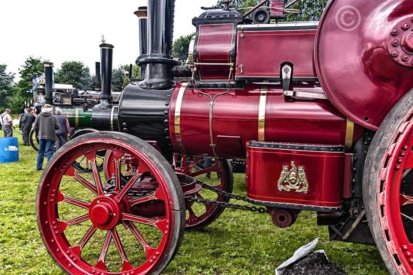Steam traction rally, Corbridge 2017