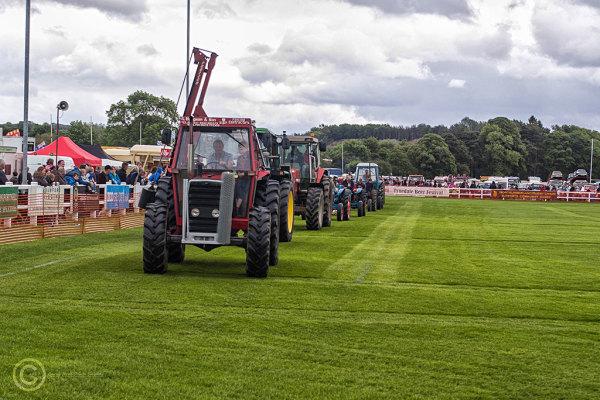 Steam traction rally Corbridge 2017