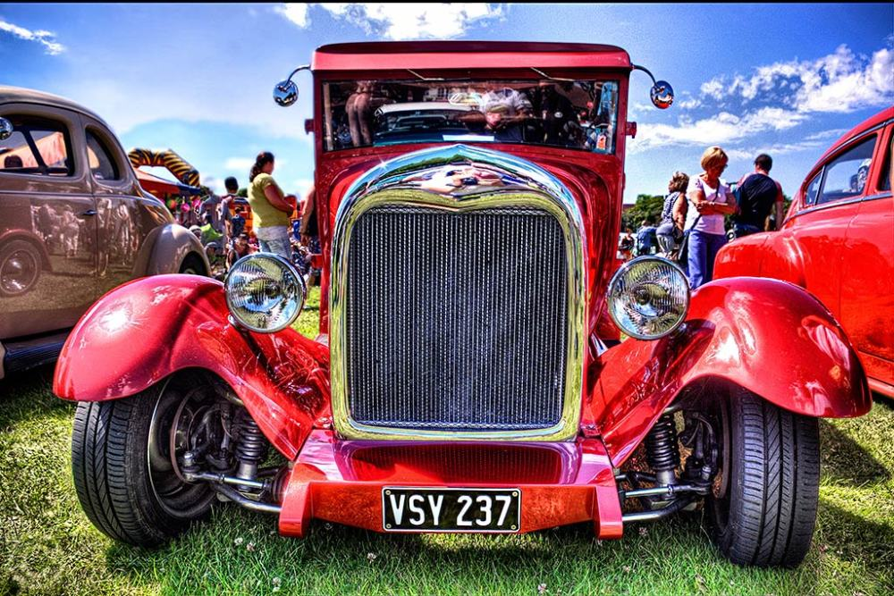 Armed Forces Day car show South Shields
