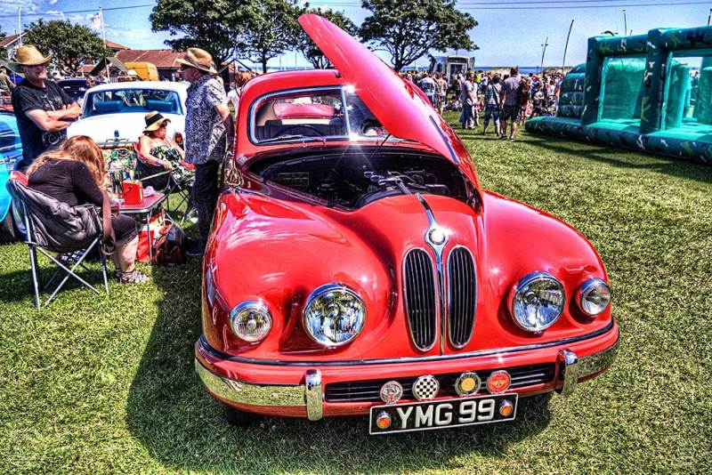 Bristol motor car Armed Forces Day South Shields
