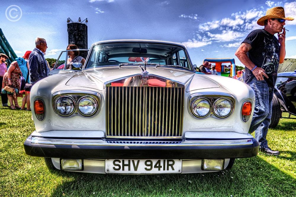 Rolls Royce car, Bents Park, South Shields