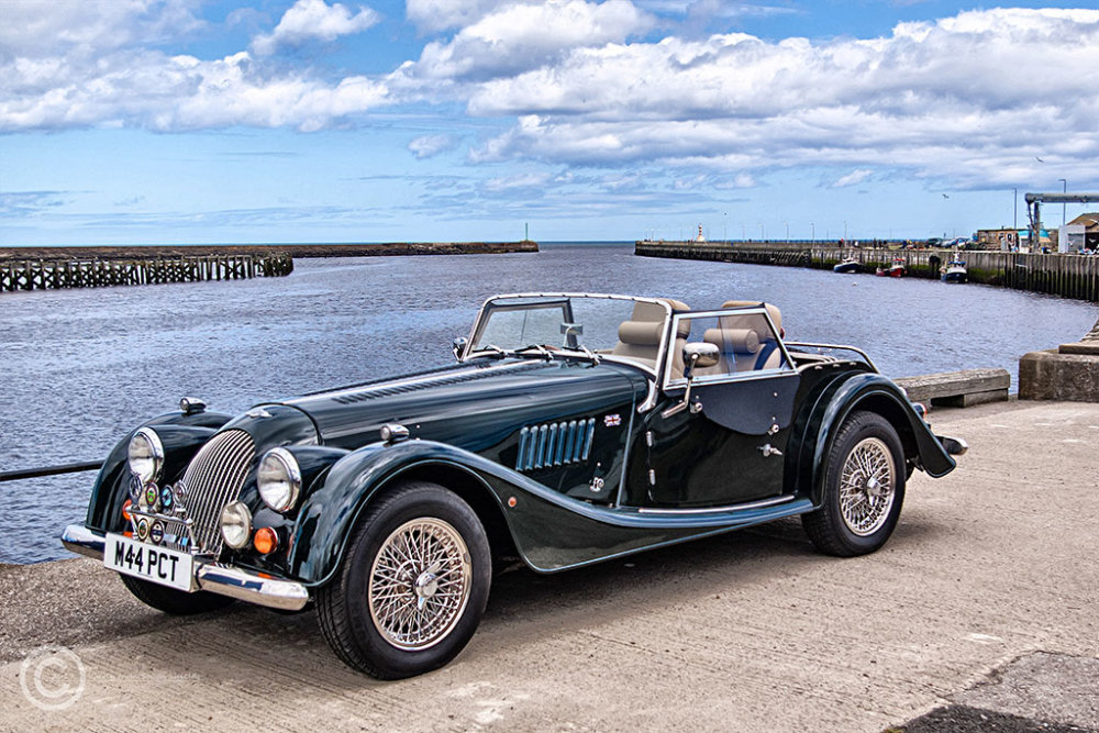 Morgan Plus 4 in Amble
