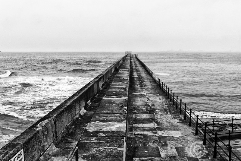 Heugh Breakwater at Hartlepool