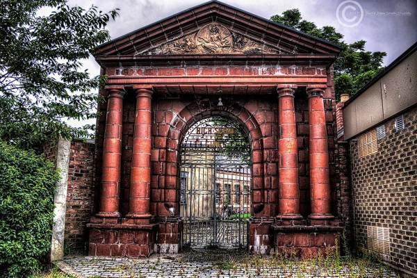 Remnants of Girl's High School in Hartlepool
