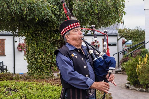Piper at Gretna Green